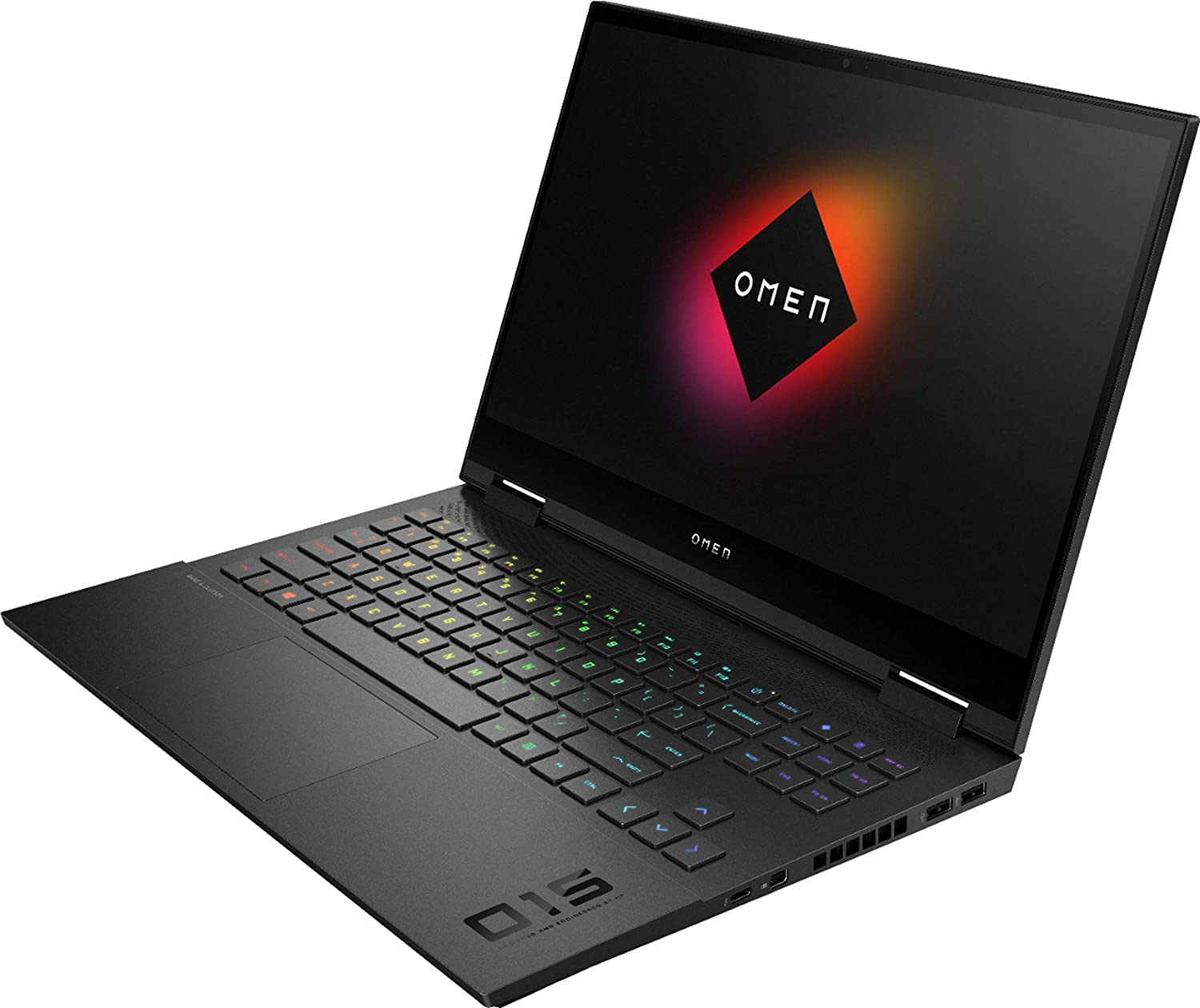 "Laptop HP OMEN 15-ek0013dx 15.6"" i7-10750H 16GB RAM 512GB SSD 32GB Intel Optane RTX 2060 6GB Negra W10 Home"