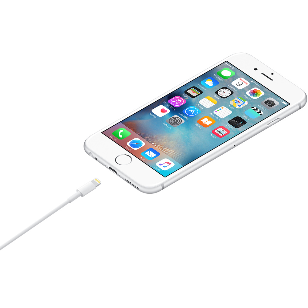 Cable Lightning a USB Apple 1m Blanco