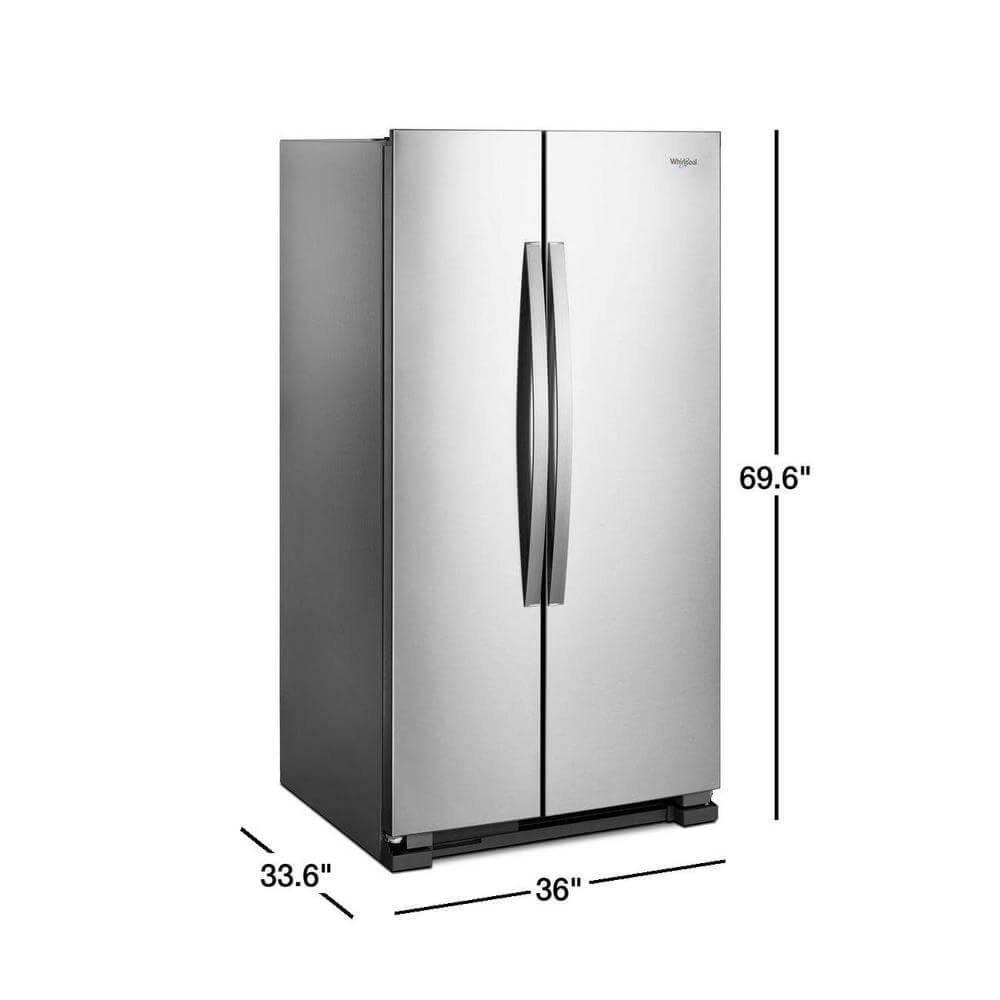 Refrigerador Whirlpool Side by Side 25ft.cu