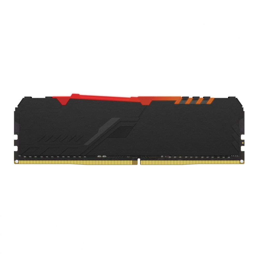 Memoria DDR4 DIMM 32GB (2x16GB) Kingston HyperX Fury RGB 2666MHz CL16