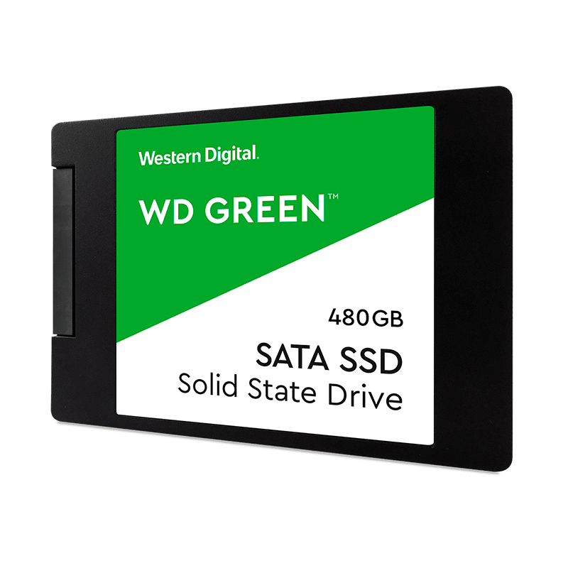 "Unidad SSD 2.5"" Western Digital Green 480GB"